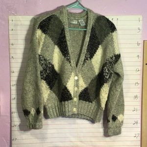 LIZ CLAIBORNE KNITTED BY HAND women's sweater szMP